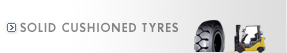 Solid Cushioned tyres
